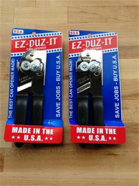 swing away can opener made in usa can openers from ez duz it swing a way and update