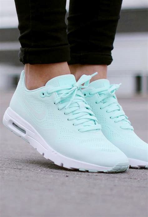 nike air max  ultra moire light tiffany blue sneakers
