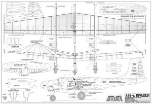 a26 plan sheet sm | flying scale models