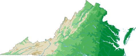 virginia topographic map virginia topo map topographical map