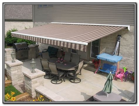 patio awnings home depot patio retractable awnings canopies patios home