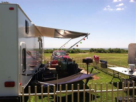 rv fence fence caravan children fence ideas and fence