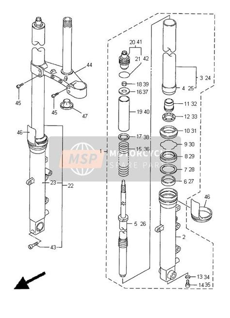 Spare Part Yamaha R6 yamaha yzf r6 2000 spare parts msp