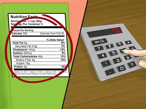 come si calcolano le calorie degli alimenti 3 modi per convertire i grammi in calorie wikihow