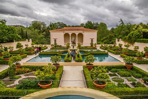 Backyard Plans by Italian Renaissance Garden Photograph By J Lai