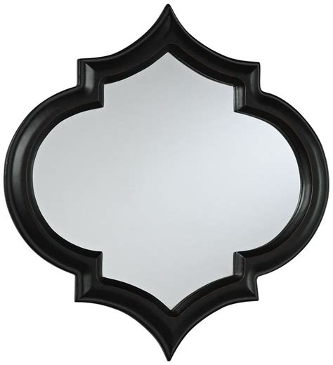 black decorative wall mirror pin by orange and pear on decorating with black