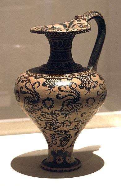 vaso cretese ceramica minoico recente arte minoica