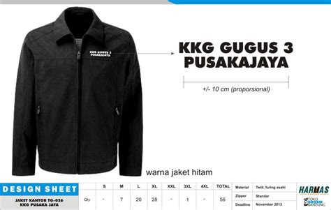 desain jaket semi formal konveksi jaket konveksi seragam kantor seragam kerja