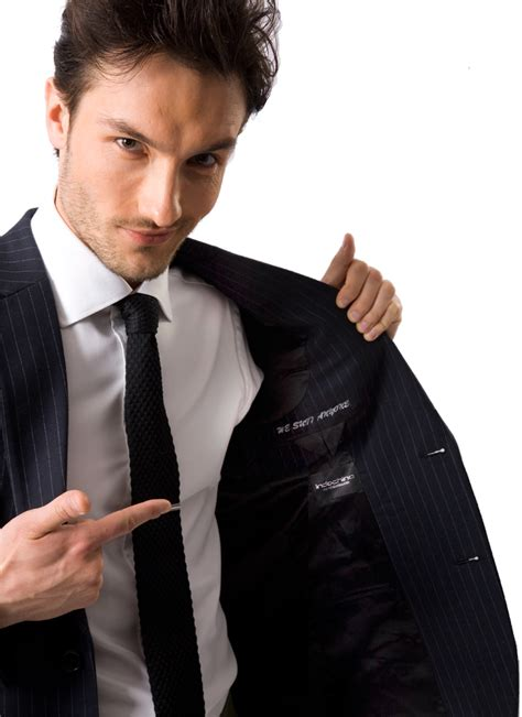 indochino introduces  character suit monogramming