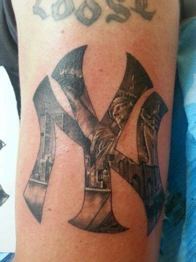 york ink tattoo ny yankee ink ny yankees