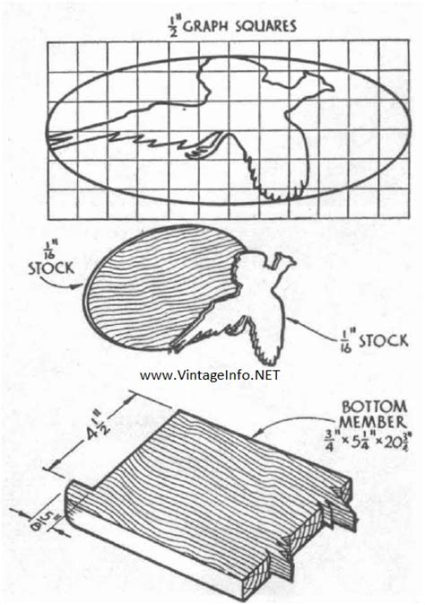 Gun Rack Template by Walnut Gun Rack To Make The Vintage Info Network