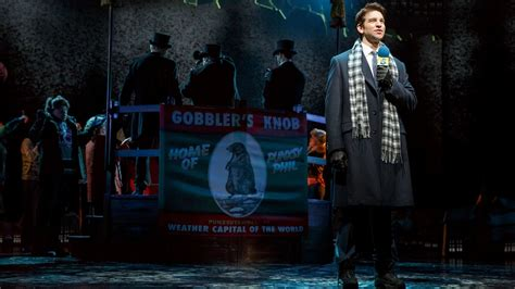 groundhog day the musical can cast injury derail groundhog day how the musical