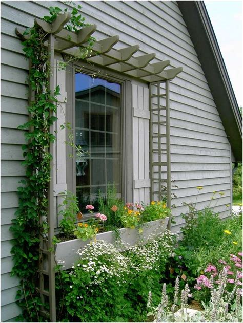 window trellis design 12 amazing ideas to decorate your home s exterior window