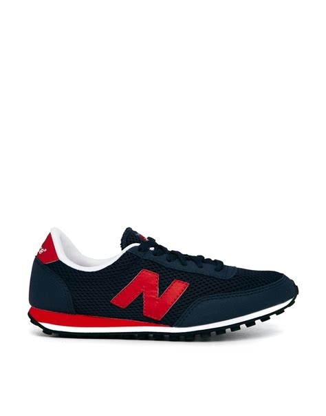new balance sneakers discount mens new balance 410 mesh sneakers blue for