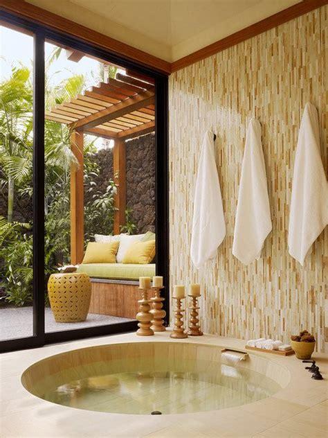 tropical bathroom designs enhancing summer