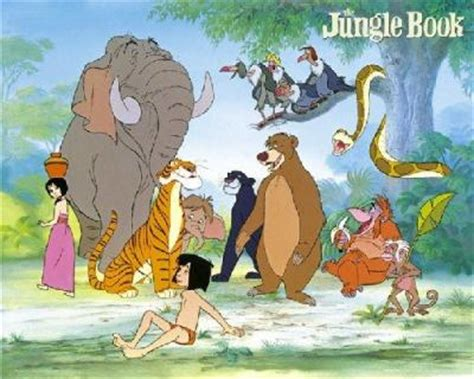 pictures of the jungle book characters benedict cumberbatch christian bale naomie harris cate