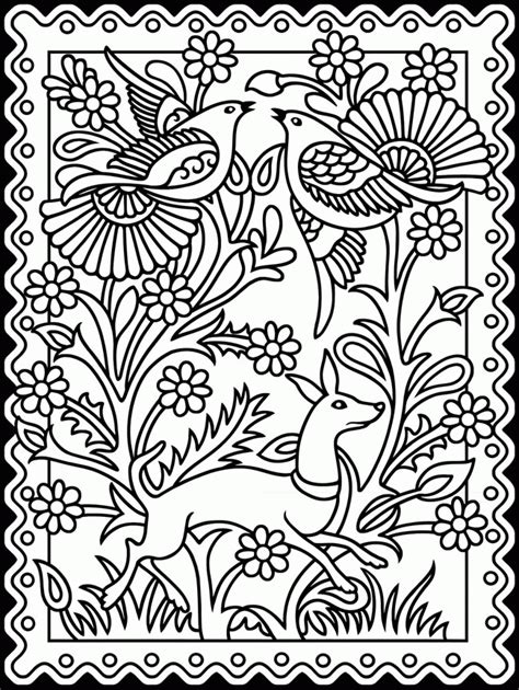 Mexican Folk Coloring Pages mexican folk coloring pages coloring home