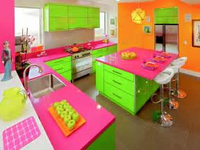 Brightly Coloured Kitchen Accessories 30 Colorful Kitchen Design Ideas From Hgtv Kitchen Ideas