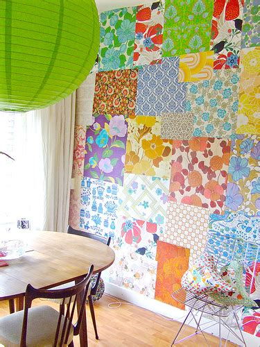 Wallpaper Patchwork - duchess fare patchwork