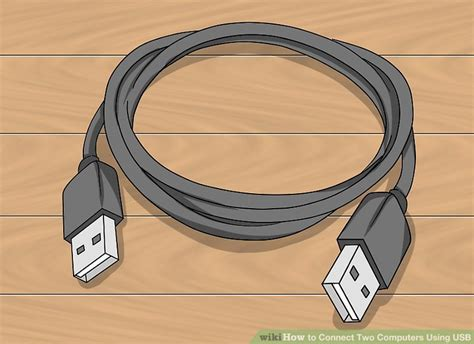 connect usb to how to connect two computers using usb 13 steps with