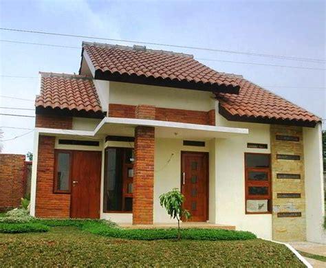 desain atap depan rumah sederhana 45 desain rumah minimalis sederhana di kung desa