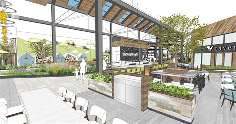 Food Court Exterior Design | pacific retail south towne center plans 20 million in
