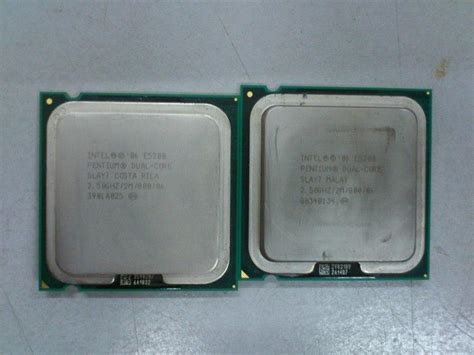 Processor Dual 28 Ghz intel e5200 dual 2 5ghz proces end 4 12 2018 12 28 am