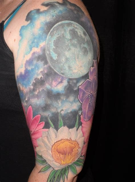 full moon tattoos designs best 25 realistic moon ideas on moon