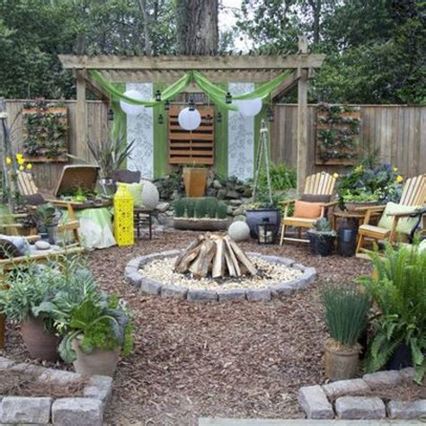 backyard design ideas on a cheap landscaping for large