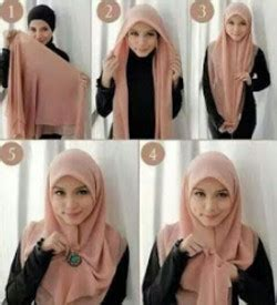 tutorial hijab segi empat simple kekinian 45 tutorial hijab simple segi empat terbaru dan kekinian