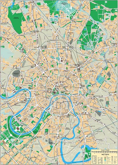 maps moscow russia maps of moscow detailed map of moscow in maps