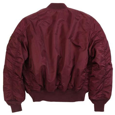 Jaket Bomber Atention Maroon alpha industries ma1 burgundy bomber jacket maroon 163 115