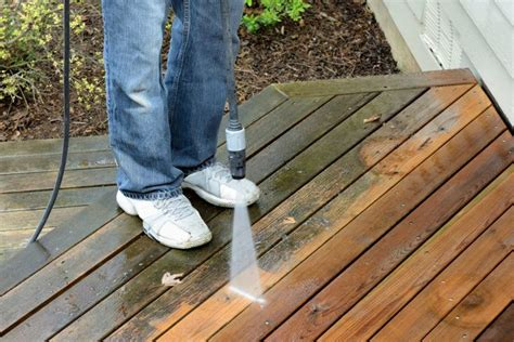 how to clean a patio with a pressure washer how to remove green algae from decking new house designs