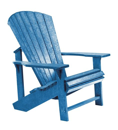 Blue Adirondack Chair by Generations Blue Adirondack Chair From Cr Plastic C01 03