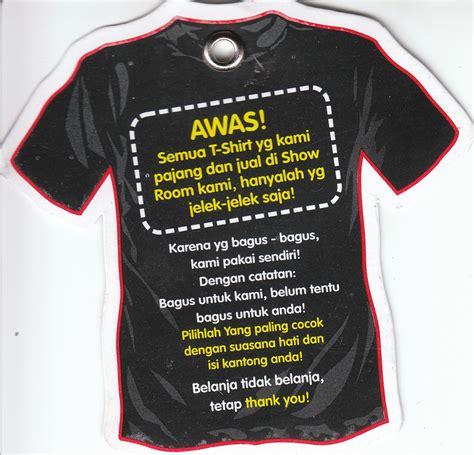 Kaos Lagi Bombong Kata Kata fantasi belanja tidak belanja tetap thank you