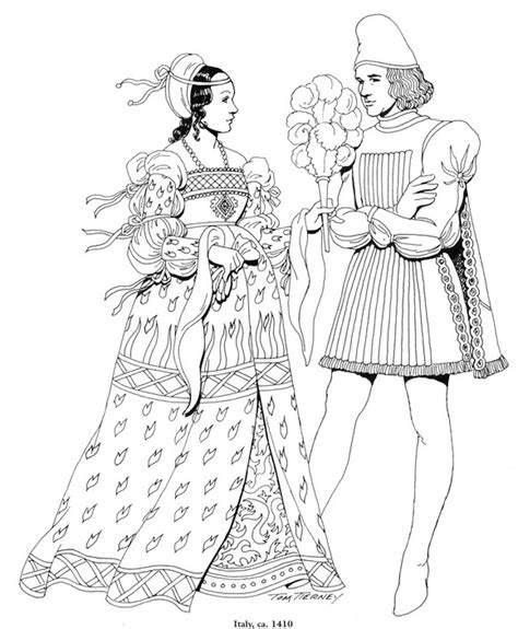 printable coloring pages renaissance kids n fun com 45 coloring pages of clothing of the