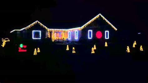 christmas lights with music blue creek walker ia 2015