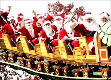 rollercoasters a christmas carol santa claus is coming to town ho ho ho merry christmas