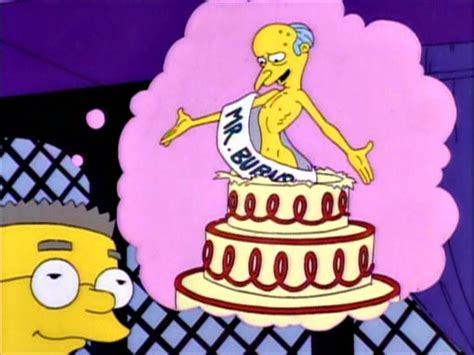 imagenes de happy birthday de los simpson happy birthday mr smithers simpsons wiki fandom