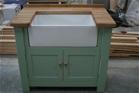 Free Standing Kitchen Sink Unit Sale Kitchen Sink Units For Sale Handmade Kitchens Bespoke Kitchens Free Standing Kitchens