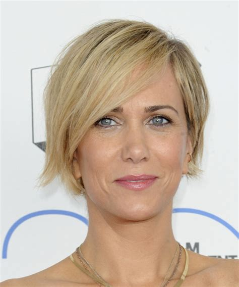 Kristen Wiig Hairstyles by Kristen Wiig Casual Hairstyle With Side