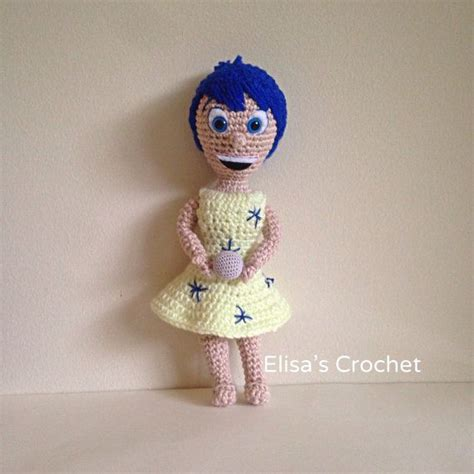 crochet pattern joy crochet pattern joy inside out disney pixar movie
