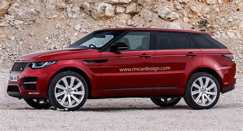 range rover coupe 2014 range rover sport coupe rendered spot on or restrained