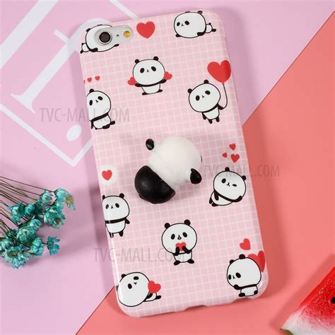 Iphone 6 Plus 3d Panda 1 Soft Silicone Back Limited squishy pinch 3d soft silicone panda squishy tpu cover for iphone 6s plus 6 plus tvc mall