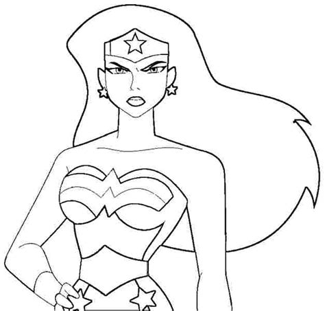coloring pages for wonder woman wonder woman coloring pages free superhero wonder woman
