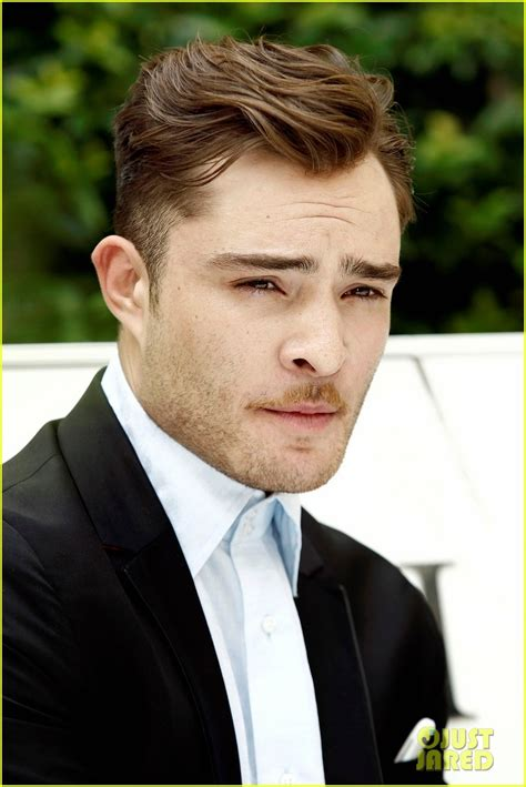 Chuck Bass Hairstyle by Ed Westwick Hairstyle Hair Ed Westwick Smile