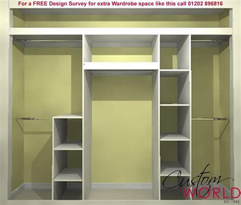 Inside Wardrobe Storage Solutions storage solutions fitted bedroom storage ideas custom world