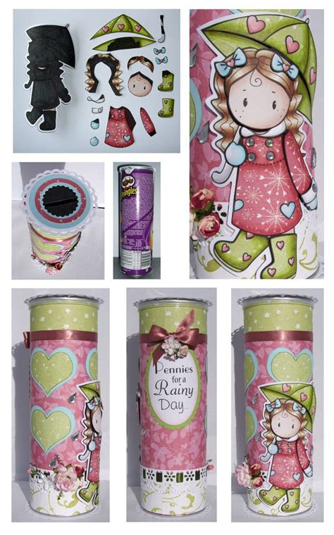 pringles can crafts for pringle can decorated paper crafts