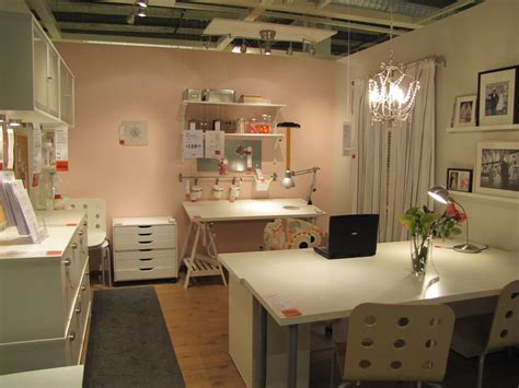 sewing room the experienced novice sewing room of my dreams ikea style