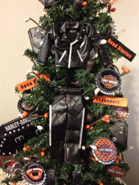 pin  harley christmas tree